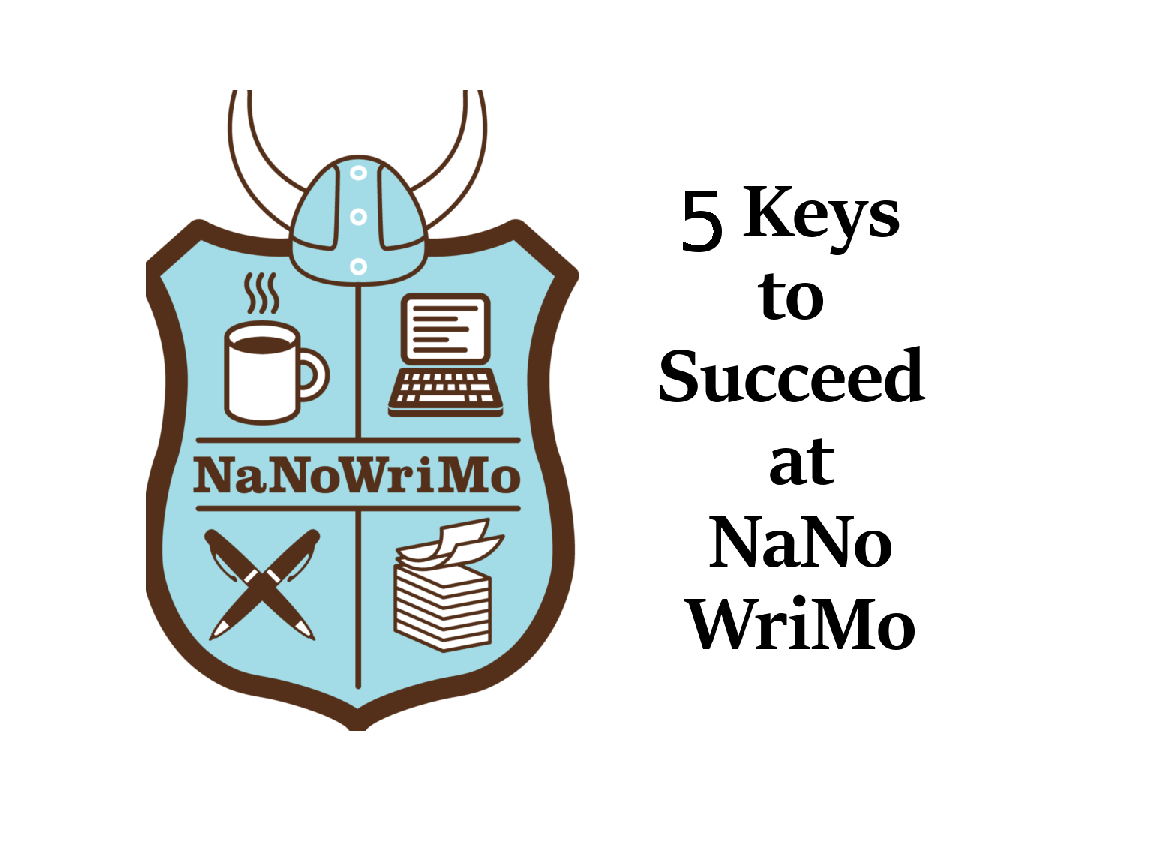 The 5 Keys to Succeed (and Stomp All Over) NaNoWriMo