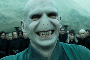 Lord Voldemort Smiling